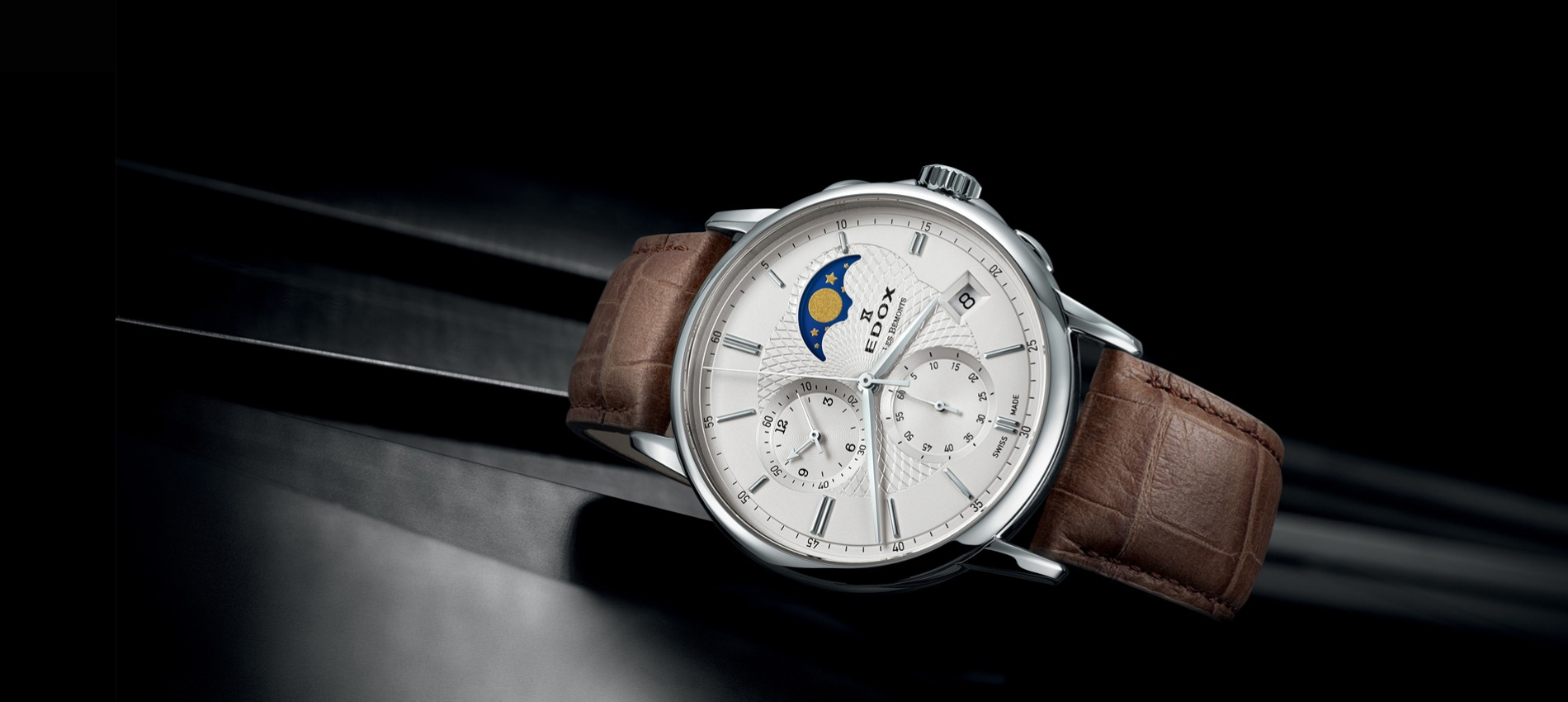 ae6b0f0b9 EDOX - švýcarské hodinky